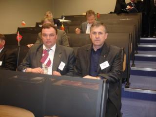EMPA konference Antverpenē. Andrejs Kanskis un Sergejs Jefimovs